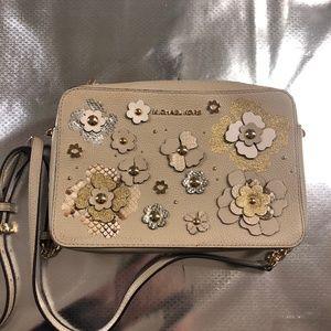 Michael Kors Floral Embellished Crossbody Bag